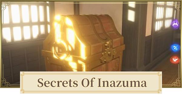 Secrets Of Inazuma List & Locations   Genshin Impact - GameWith