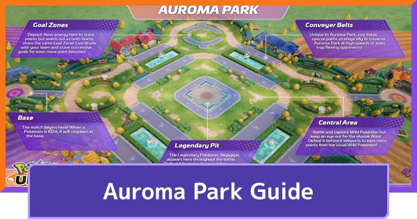 Auroma Park - Map & Wild Pokemon Guide   Pokemon UNITE - GameWith