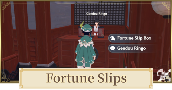 Fortune Slips   How To Get & Achievements   Genshin Impact - GameWith