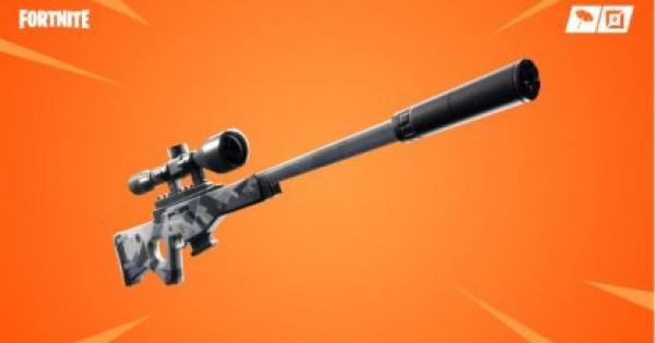 Fortnite | Suppressed Sniper Rifle - Damage & Stats - GameWith