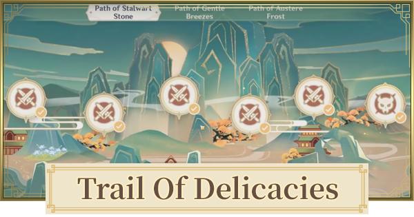 Trails Of Delicacies (Moonlight Merriment ) How To Unlock & Rewards
