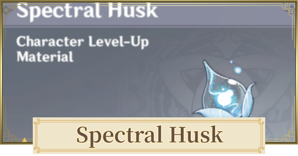Spectral Husk Location & How To Farm | Genshin Impact - GameWith