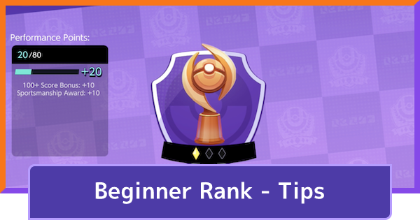 Beginner Rank - How To Rank Up Tips & Techniques | Pokemon UNITE - GameWith
