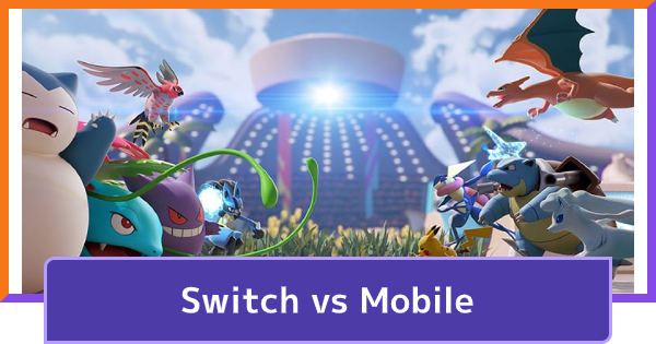 Mobile vs Switch - Version Differences | Pokemon UNITE - GameWith