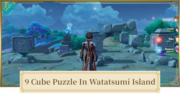 Nine Rotating Cube Puzzle In Watatsumi Island Locations & How To Solve    Genshin Impact - GameWith