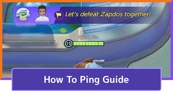How To Ping In A Match   Pokemon UNITE - GameWith