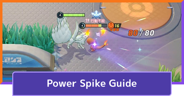 Power Spike Guide - When Pokemon Get Stronger | Pokemon UNITE - GameWith