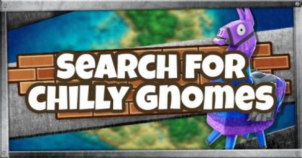Fortnite | Search Chilly Gnomes (Week 6)
