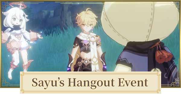 Hangout Event For Sayu Walkthrough - All Branches & Endings   Genshin Impact - GameWith