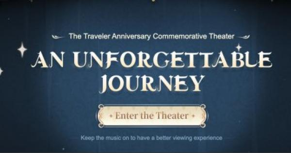 An Unforgettable Journey Web Event Guide   Link Sharing & How To Get Primogems