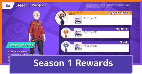 Season 1 Rewards - When Does The Season End?   Pokemon UNITE - GameWith