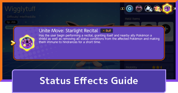 Status Effects Guide - Ailment Types & How To Cure | Pokemon UNITE - GameWith