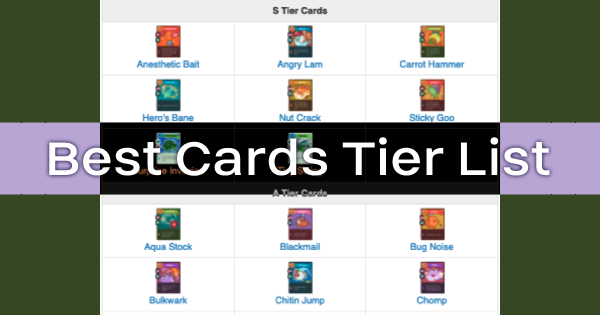 Axie Infinity | Best Cards Tier List - Arena Guide - GameWith