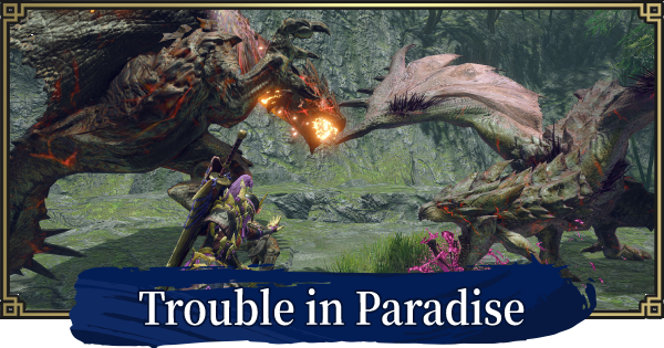 Trouble in Paradise - Event Quest