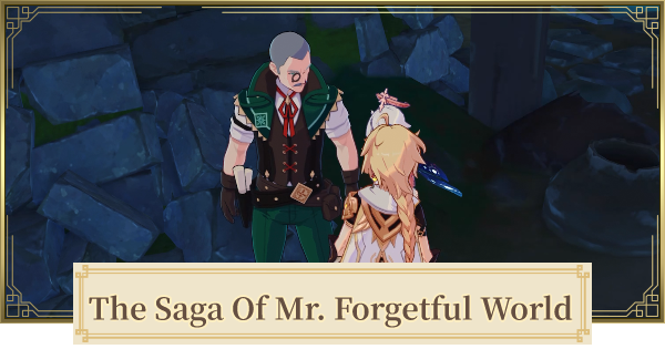 The Saga Of Mr. Forgetful World Quest Guide | Take A Photo Of The Ruin Murals | Genshin Impact - GameWith
