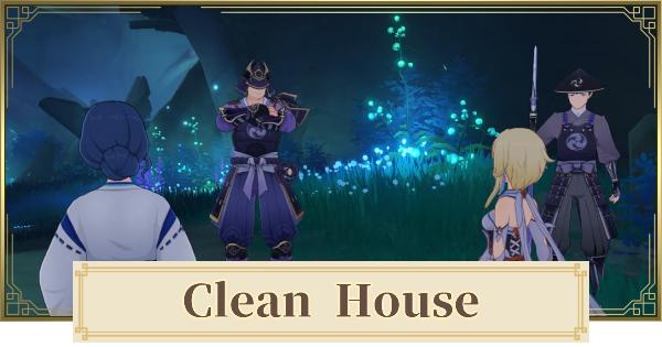 Clean House World Quest Walkthrough Guide | Genshin Impact - GameWith