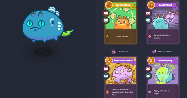 Axie Infinity | Poison Tank Build: Best Stats & Abilities Guide - GameWith