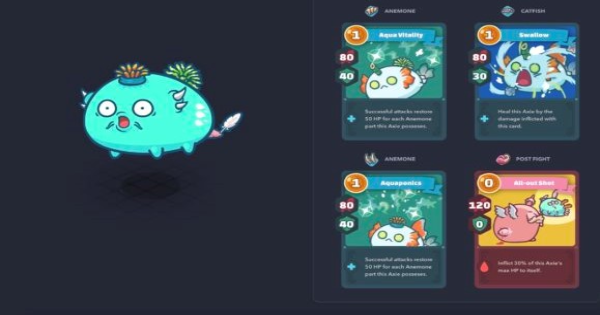 Axie Infinity | Double Anemone Build: Best Stats & Abilities Guide - GameWith