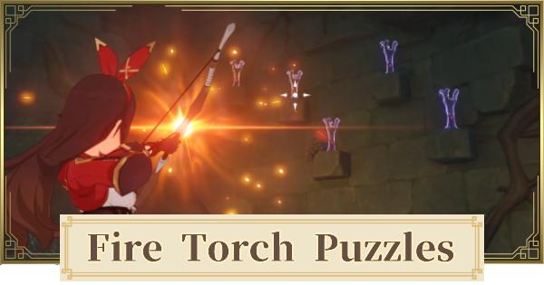 Shirikoro Peak Fire Torch Puzzles Guide & Walkthrough   Genshin Impact - GameWith