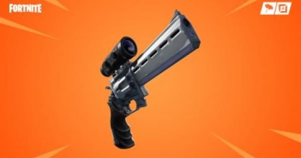 Fortnite | Scoped Revolver - Damage & Stats - GameWith