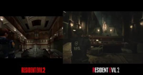RE2 | Comparison: Resident Evil 2 Remake vs 1998 Original | Resident Evil 2 Remake - GameWith