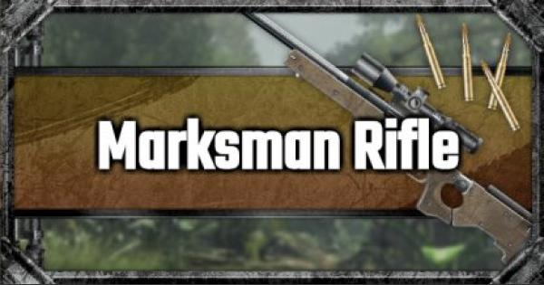 Marksman Rifle List & Stats Comparison - GameWith