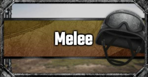 Melee - Weapon List - GameWith