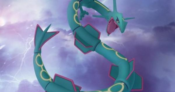 Pokemon Go | Rayquaza CP & IV Reference Chart