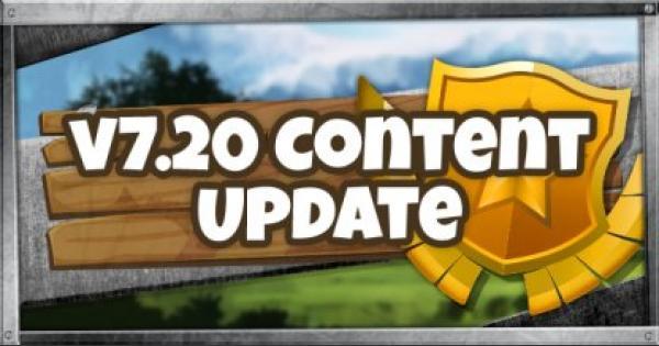 Fortnite | v7.20 Content Update Summary - January 22, 2019