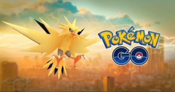 Pokemon Go | Zapdos CP & IV Reference Chart