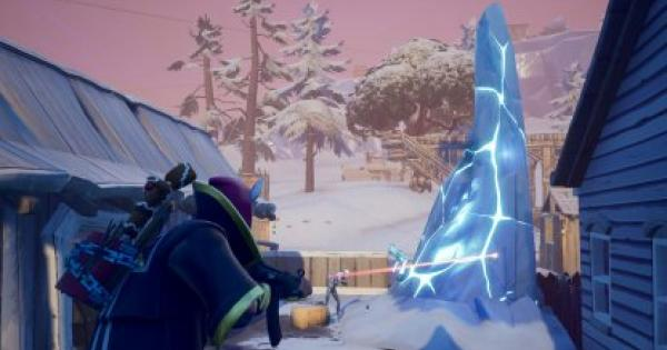 Fortnite | Destroy an Ice Shard - Ice Storm Challenges - GameWith