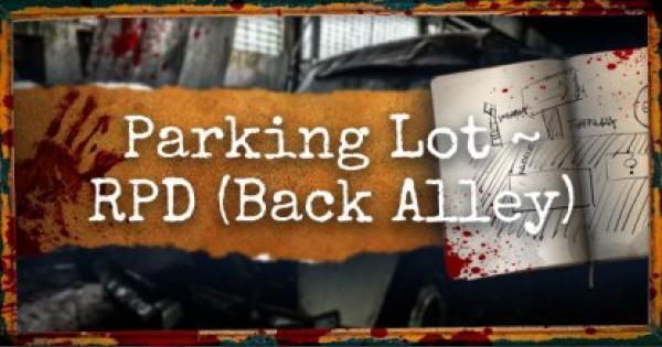 Resident Evil 2 Remake | Leon A Walkthrough Pt.3: Parking Lot ~ Back Alley | RE2