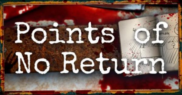 Resident Evil 2 Remake | Points of No Return | RE2