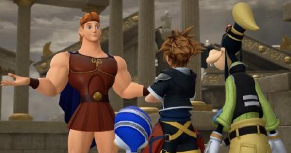 Kingdom Hearts 3 | Chapter 1: Olympus - Map & Box | KH3