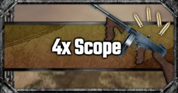 4x Scope - Attachment Stats & Tips - GameWith
