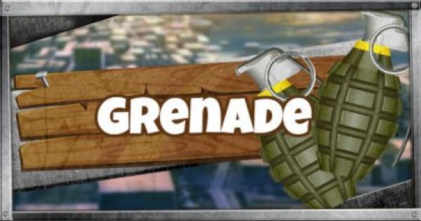 Fortnite | Grenade - Damage & Stats - GameWith