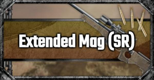 Extended Mag (SR) - Attachment Stats & Tips - GameWith