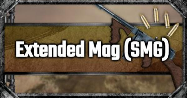 Extended Mag (SMG) - Attachment Stats & Tips - GameWith