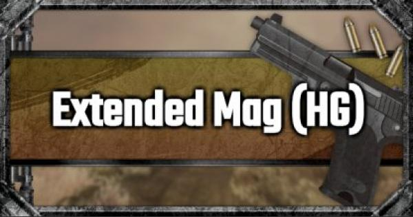 Extended Mag (HG) - Attachment Stats & Tips - GameWith