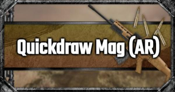 Quickdraw Mag (AR) - Attachment Stats & Tips - GameWith