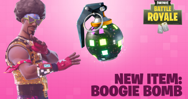 Fortnite | Boogie Bomb (Boogie Bomb Guide)