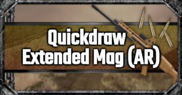 PUBG Mobile | Quickdraw Extended Mag (AR) - Attachment Stats