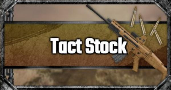 Tactical Stock - Attachment Stats & Tips - GameWith