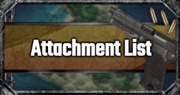 PUBG Mobile | All Attachment List
