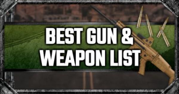 PUBG Mobile | Best Gun & Weapon List