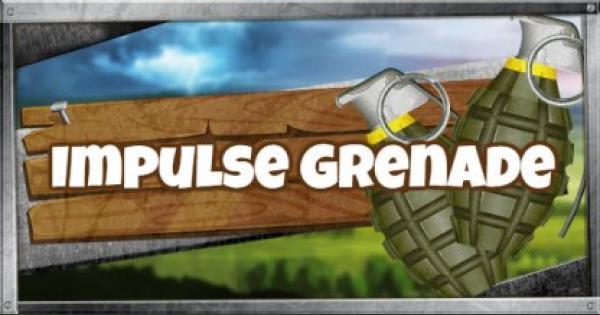 Fortnite | Impulse Grenade - Damage & Stats - GameWith