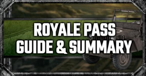 PUBG Mobile | Royale Pass (Royal Pass) Guide