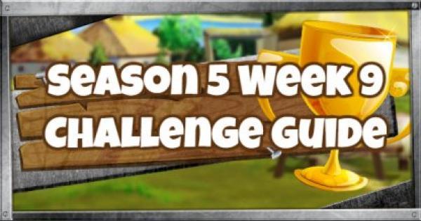 Fortnite | Season 5 Week 9 Challenges Guide
