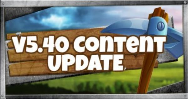 Fortnite | v5.40 Content Update Summary - September 11, 2018