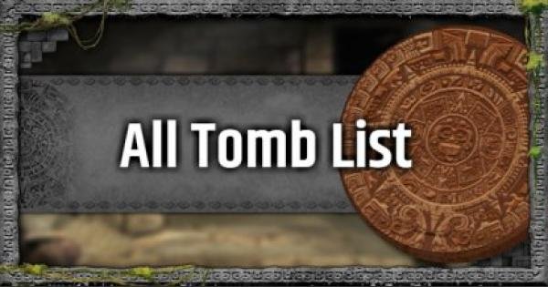 Tomb Raider | All Challenge Tomb Guide List | Shadow of the Tomb Raider